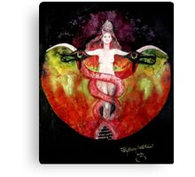 THE ASCENSION OF LILITH Canvas Print