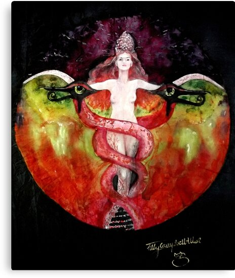 THE ASCENSION OF LILITH by Silk Alchemy