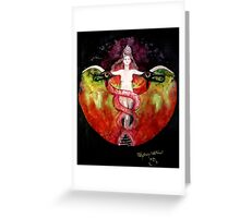 THE ASCENSION OF LILITH Greeting Card