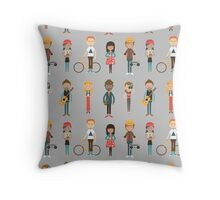 The Cool Kids Throw Pillow