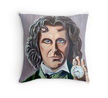 Paul Mcgann as Doctor number 8 Throw Pillow