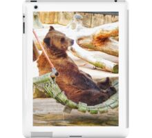 It's Tough to be a Bear iPad Case/Skin