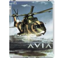EH-101 Merlin Helicopter iPad Case/Skin