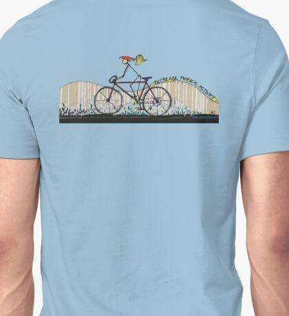 Increase Physical Activity - Biking at the beach Unisex T-Shirt