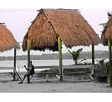 Warmth And Protection In Bocas Del Toro, Panama Photographic Print