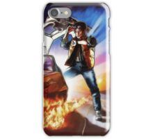 Back To The Future -Ink n Painted iPhone Case/Skin