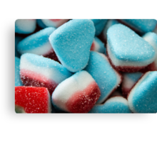 Heart Sweets Canvas Print