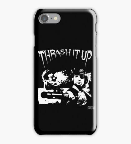 Thrash Snake B&W iPhone Case/Skin