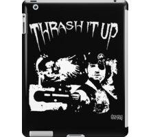 Thrash Snake B&W iPad Case/Skin