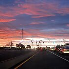 Another Driving Sunset by nastruck
