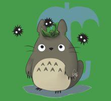 Diseño Totoro chibi One Piece - Short Sleeve