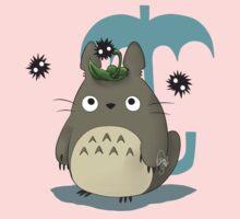 Diseño Totoro chibi Kids Tee