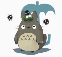 Diseño Totoro chibi One Piece - Long Sleeve