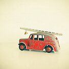 Red Fire Engine by Cassia