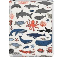 Ocean Animals by Andrea Lauren iPad Case/Skin