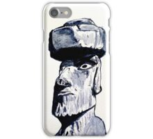 Mysterious Easter Island Head iPhone Case/Skin