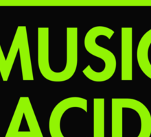 Music Acid Sticker