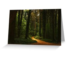 Path to my dreams Greeting Card