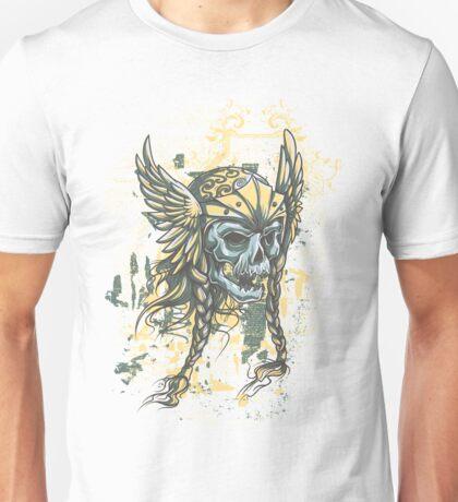 Braided Skull Unisex T-Shirt