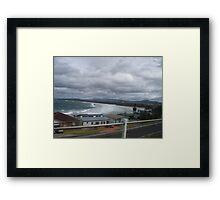 7 Mile beach Gerroa Framed Print