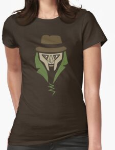 Metal Faced - Black Edition Womens Fitted T-Shirt