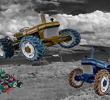 Tractor Wars  by Rob Hawkins