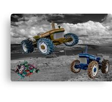 Tractor Wars  Canvas Print