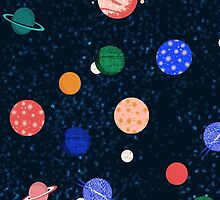 Cosmic Planets by Andrea Lauren by Andrea Lauren