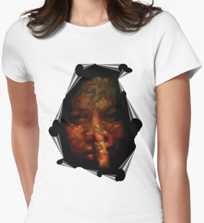 shhhhh Womens Fitted T-Shirt
