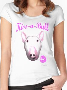 Kiss-a-Bull Women's Fitted Scoop T-Shirt