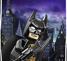 "Lego Batman ""Relax everybody I'm here"" by steinbock"