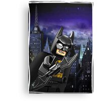 "Lego Batman ""Relax everybody I'm here"" Canvas Print"