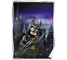 "Lego Batman ""Relax everybody I'm here"" Poster"