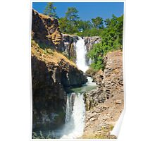 White River Falls, both sections Poster