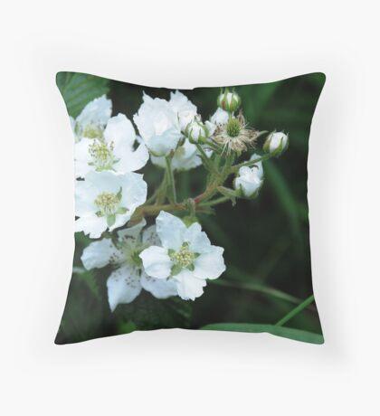 Blackberry Throw Pillow