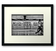 Missed It Framed Print