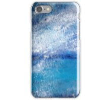 Snow storm over Iona iPhone Case/Skin