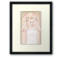 Rose Maiden Framed Print