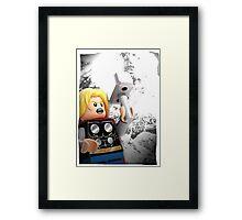 Lego Thor Framed Print