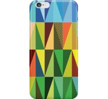 Abstract triangles iPhone Case/Skin