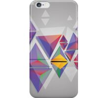 Abstract triangles 3 iPhone Case/Skin
