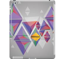 Abstract triangles 3 iPad Case/Skin