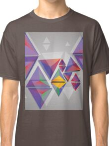 Abstract triangles 3 Classic T-Shirt
