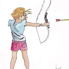 Arrow Release by Wendy Crouch