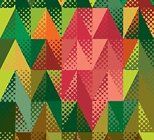 Abstract triangles 5 by AnnArtshock