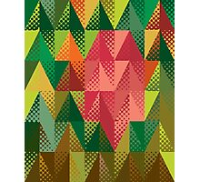 Abstract triangles 5 Photographic Print