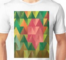 Abstract triangles 5 Unisex T-Shirt