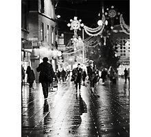 Wet Shadows Photographic Print