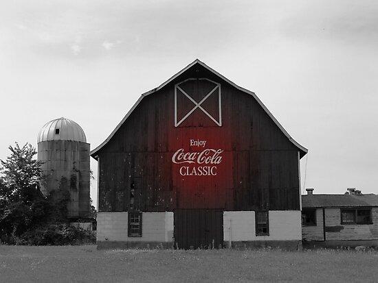 Coca-Cola Classic Barn by Patrick Czaplewski