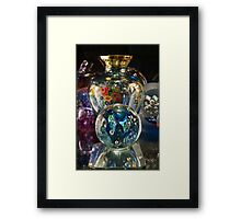 Thea's glass cabinet 2 Framed Print